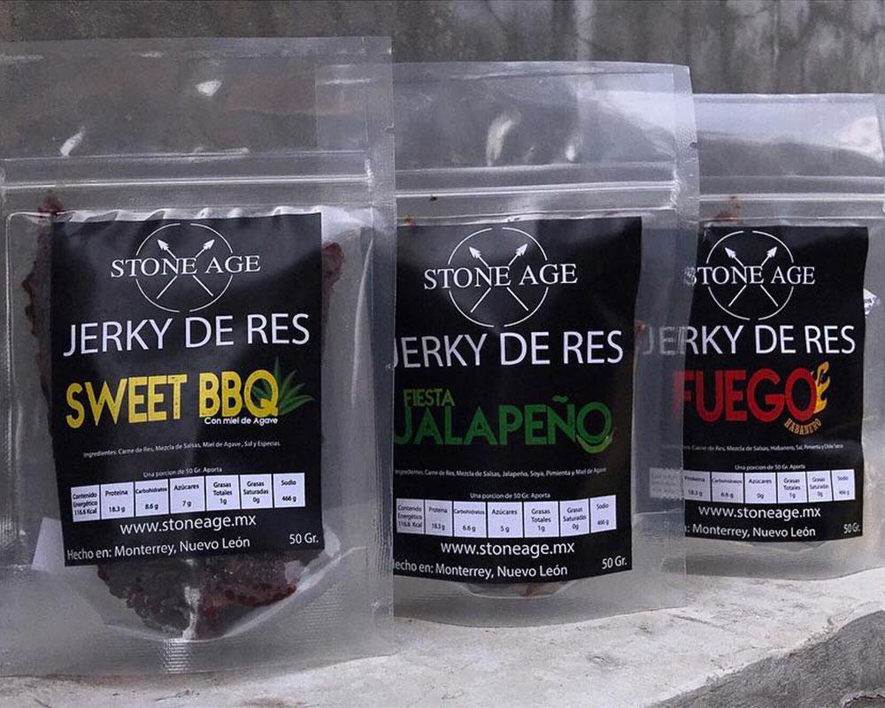 Emballage de produits saccadés personnalisé par étiquettage