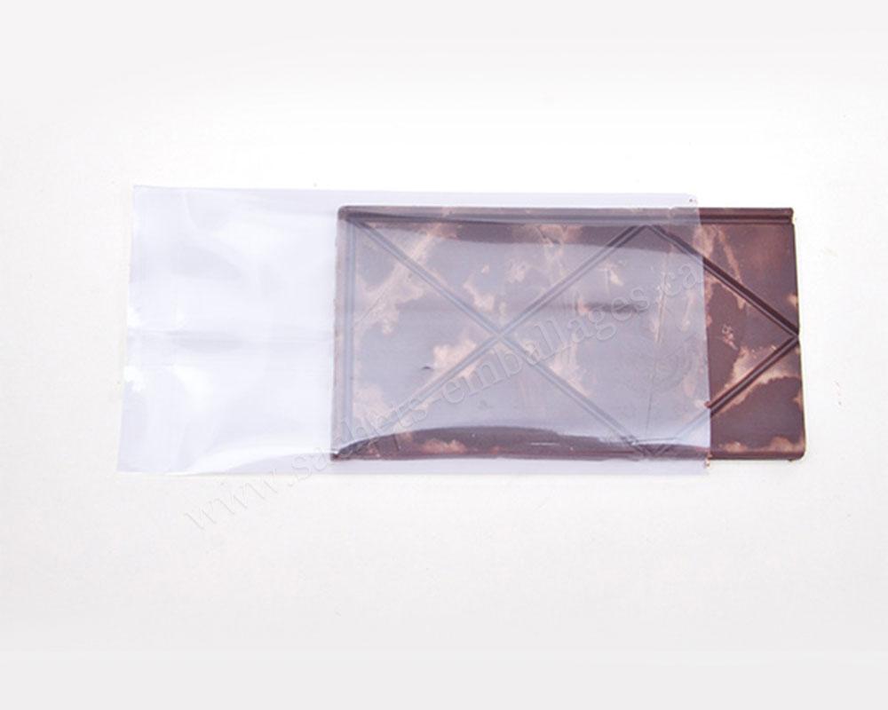 Emballage très transparent pour chocolat
