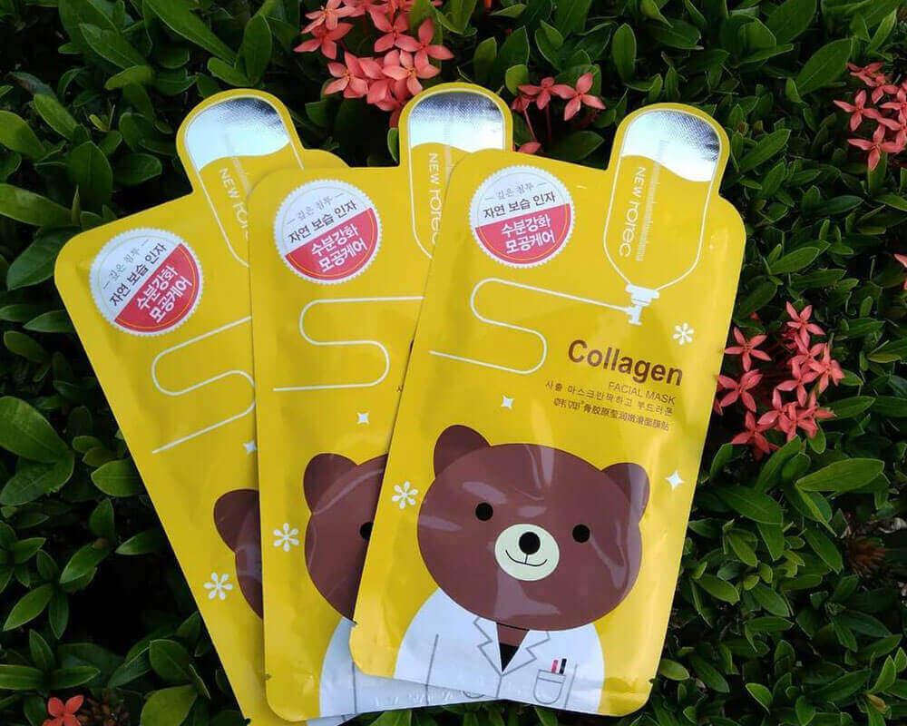 Emballage pour masque cosmétique