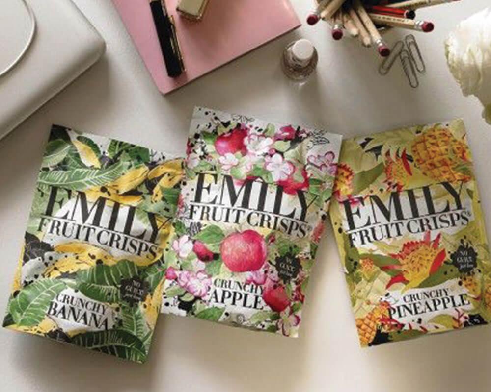 Emballage de fruits séchés