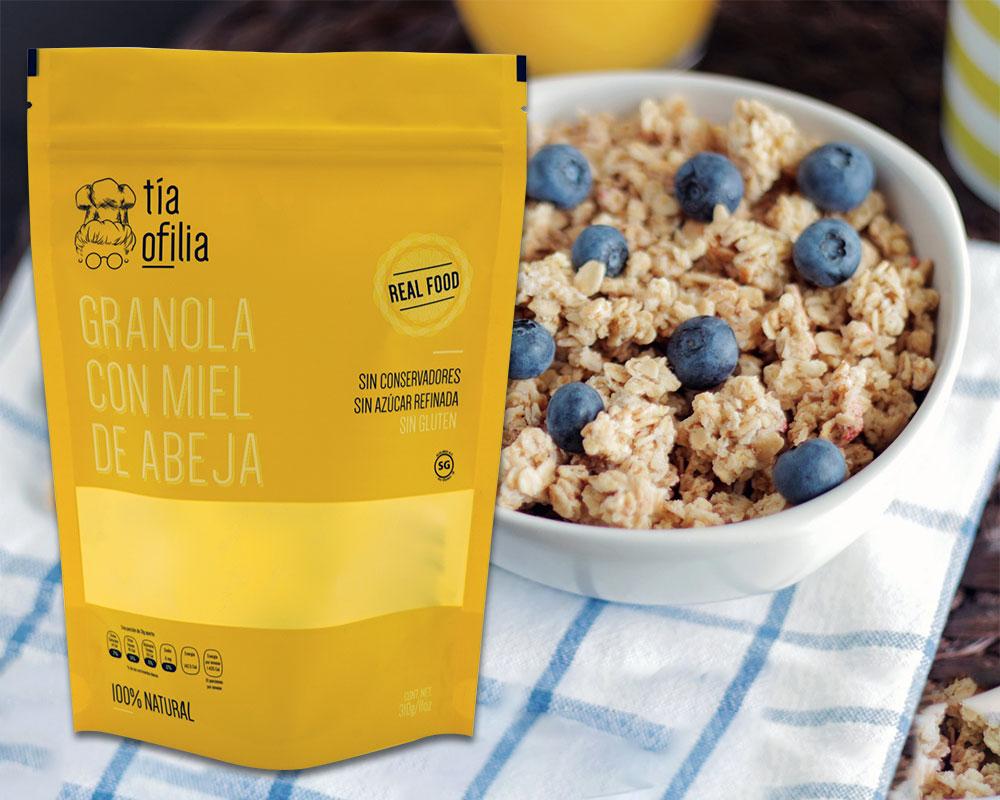 Emballage de granola