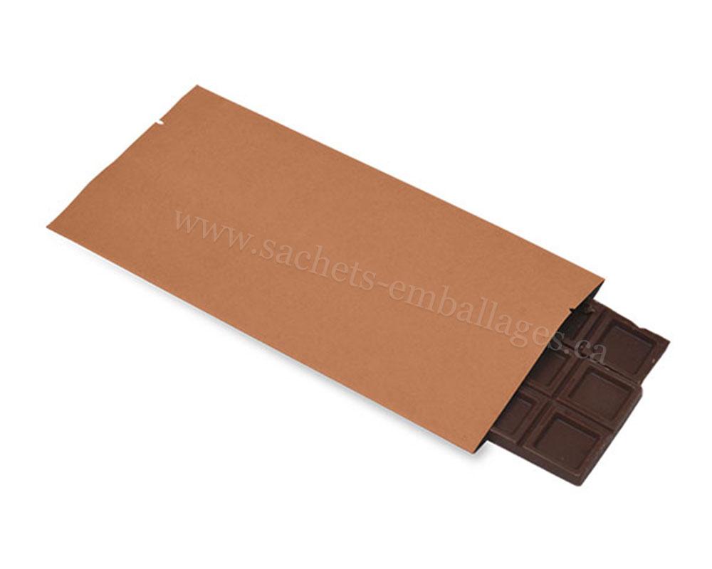 Emballage de barre de chocolat