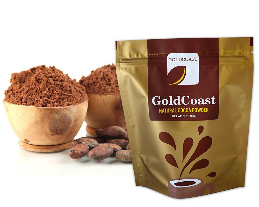 Emballage de poudre de cacao