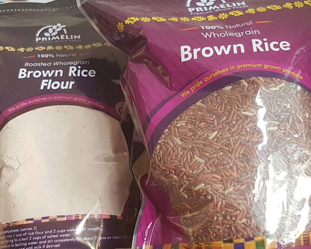 Emballage de riz