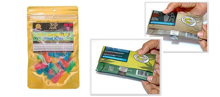 Pochettes anti-odeur personnalisées