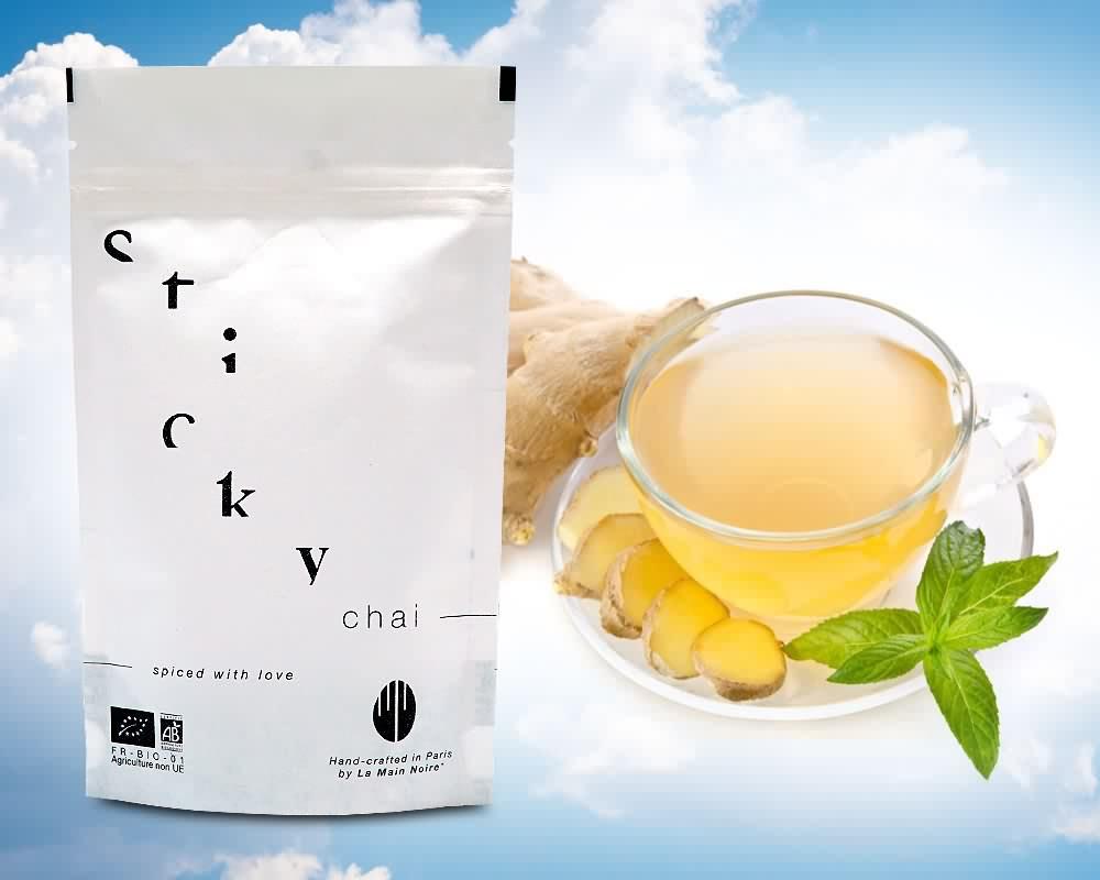 emballage de thé en sachets