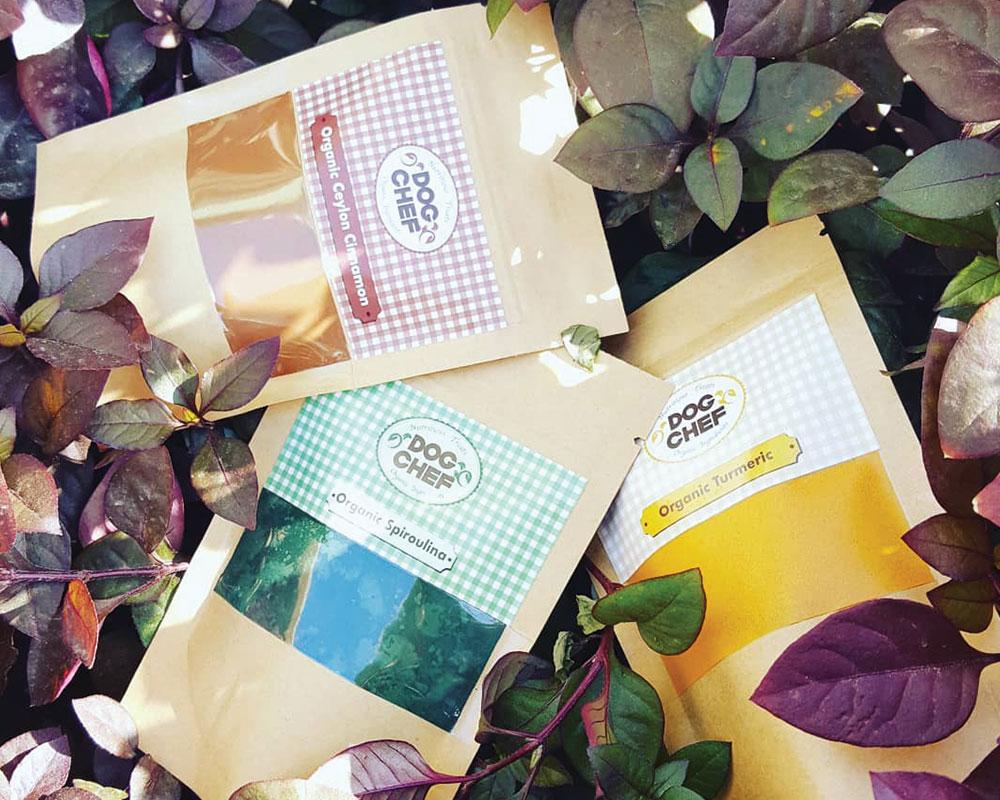 Emballage de super-aliments