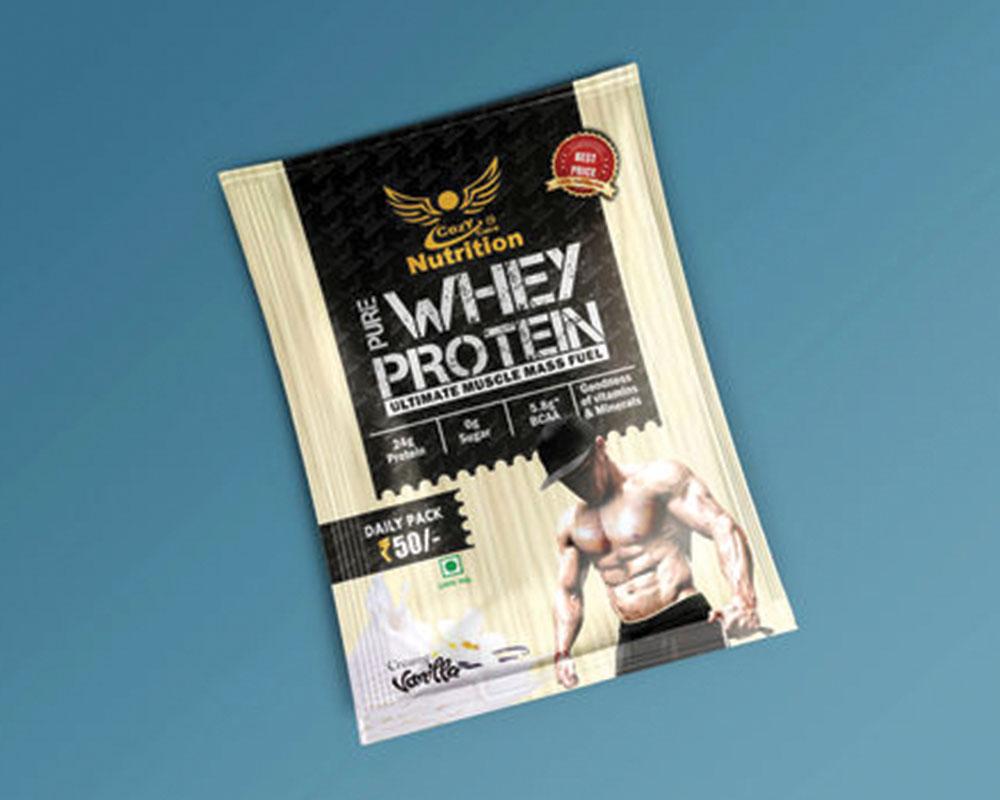 Pochettes de protéines