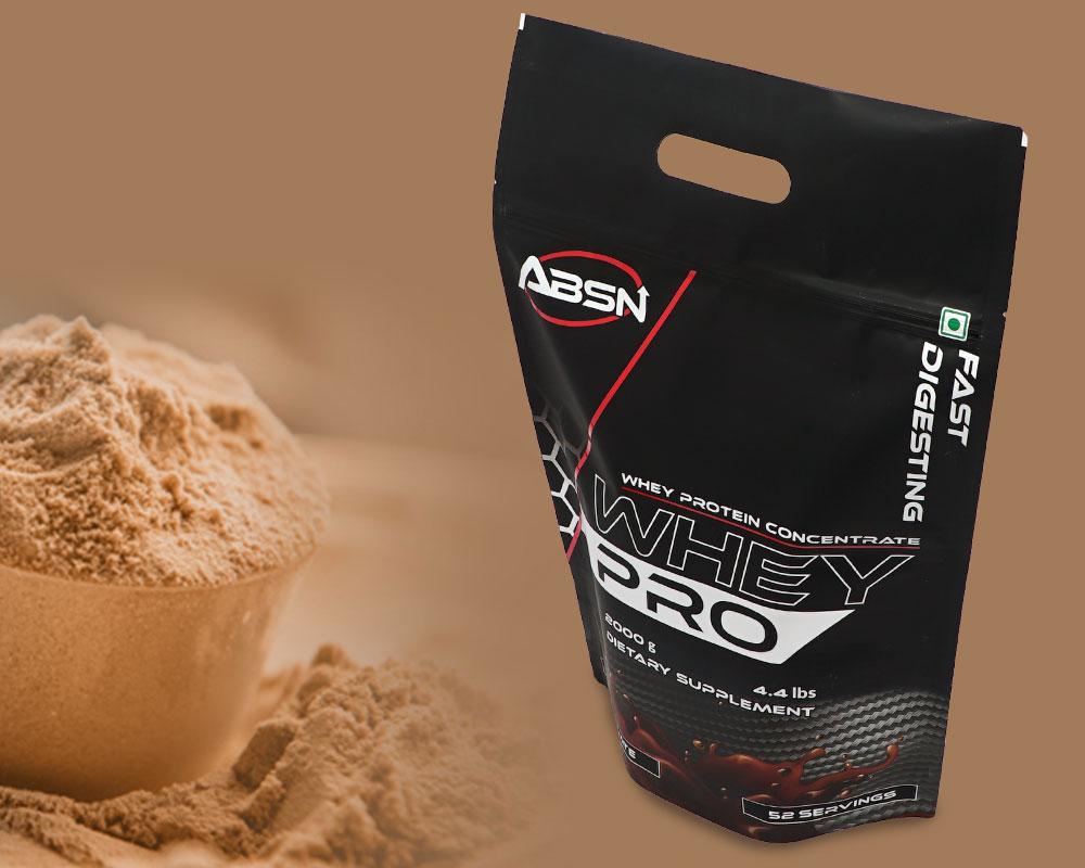 Emballage de poudre de protéine