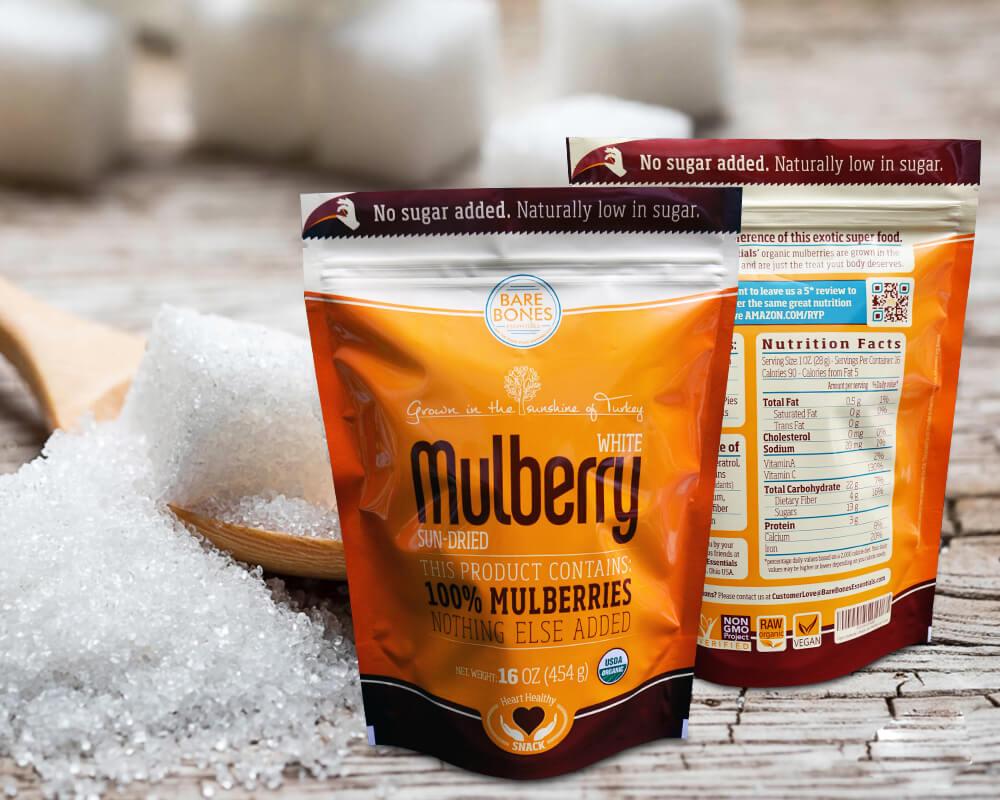 Emballage de sucre en poudre