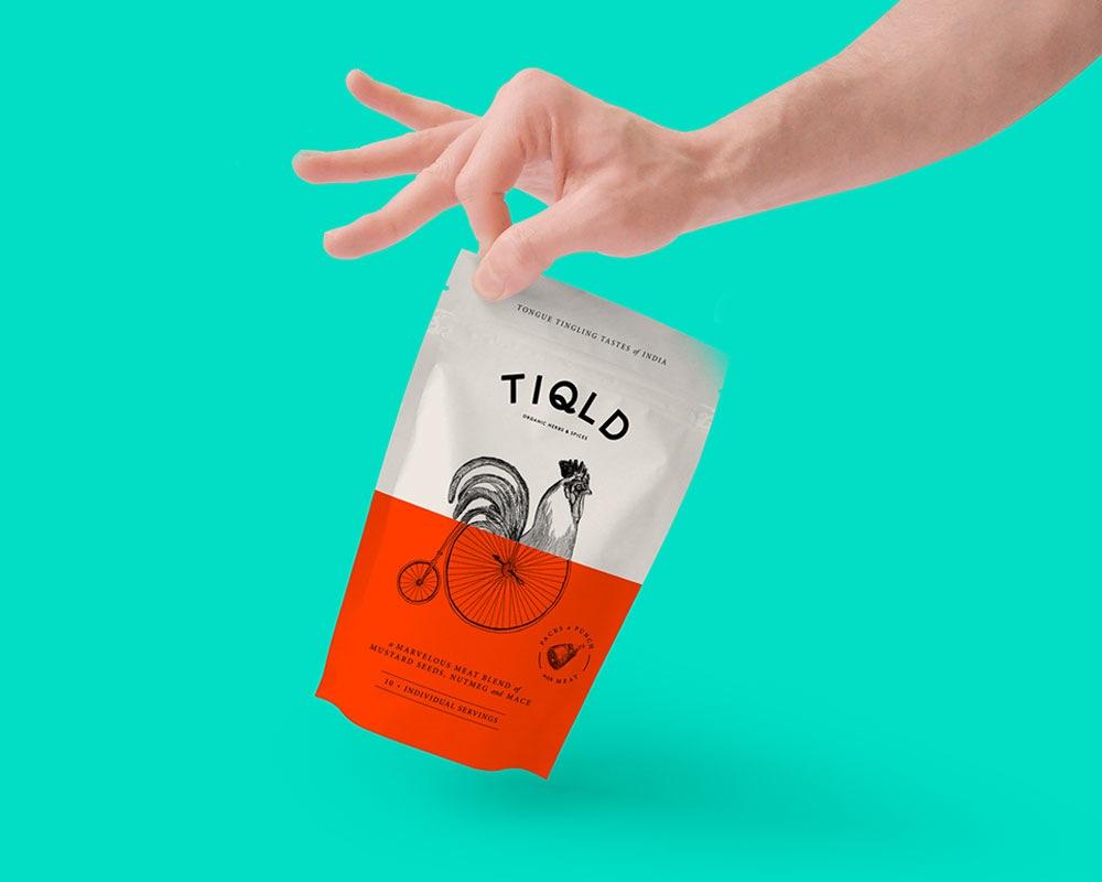 Emballage d'épices
