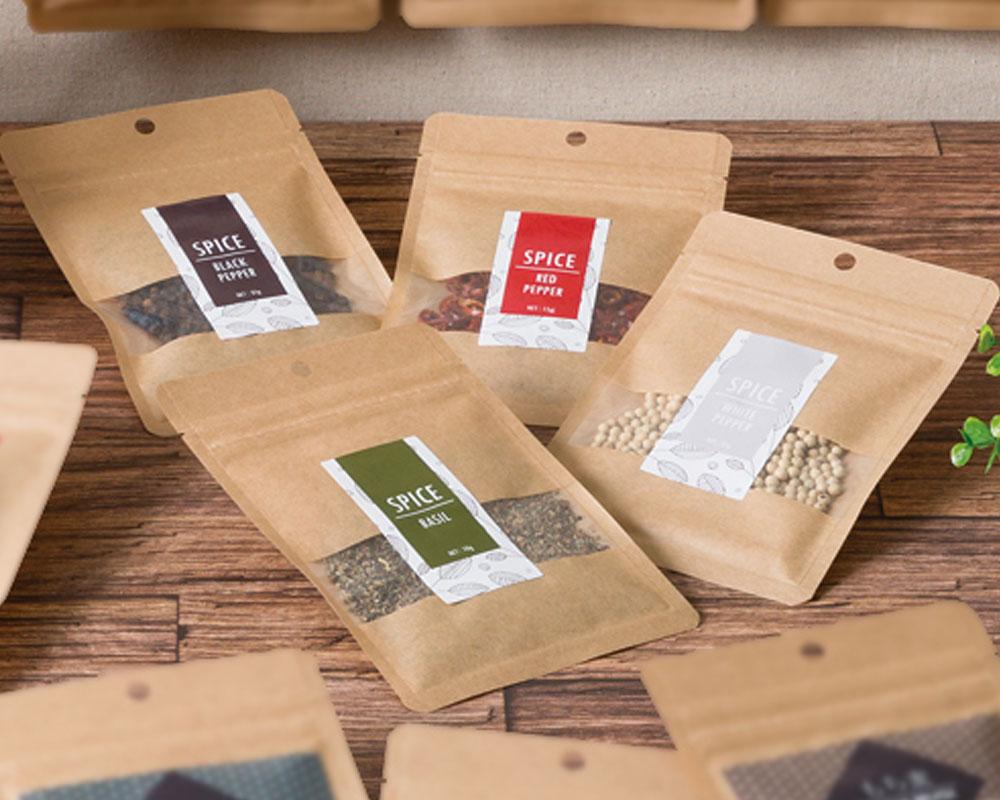 Emballage Pour Épice