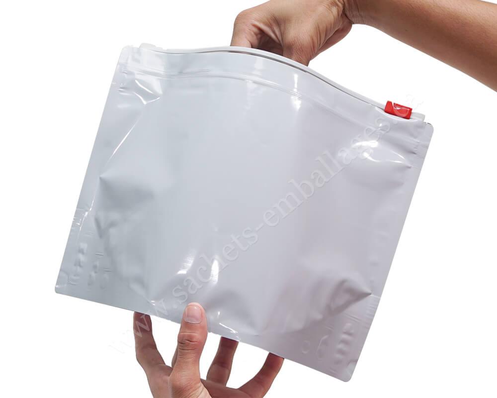 Pochettes à glissière résistantes aux enfants